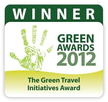Winner 2012 Green Travel Initiatives Award