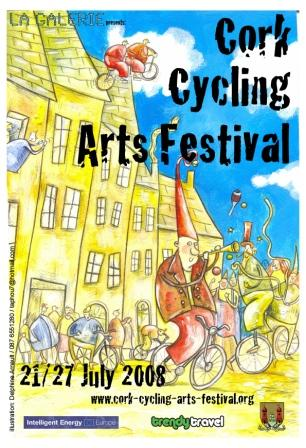 Cork Cycling Arts Festival Poster