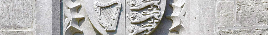 Stone Crest above Stone Arch on the Main Quad, UCC