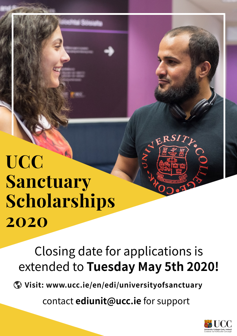 Sanctuary Scholarships 2020 - Extended Closing Date