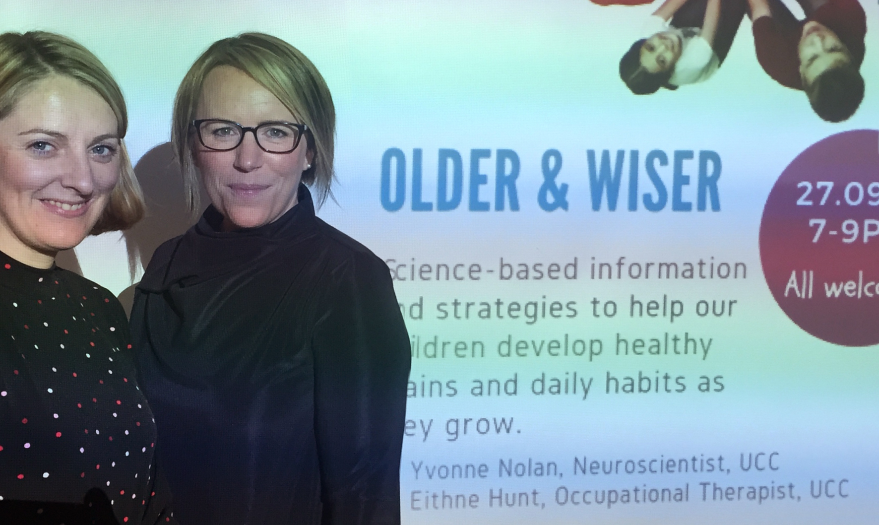 Dr Yvonne Nolan and Dr Eithne Hunt present 'Older and Wiser'
