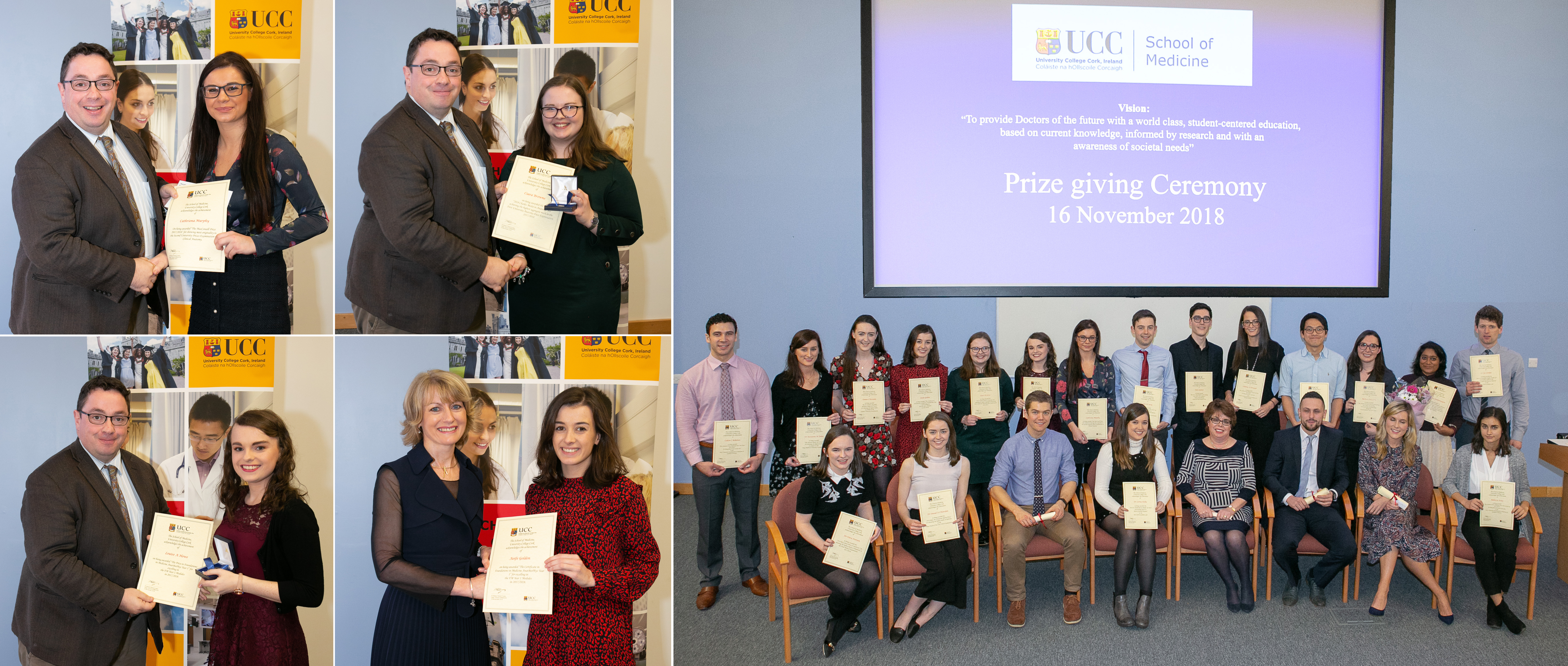 UCC School of Medicine Annual Prizegiving Ceremony 2018