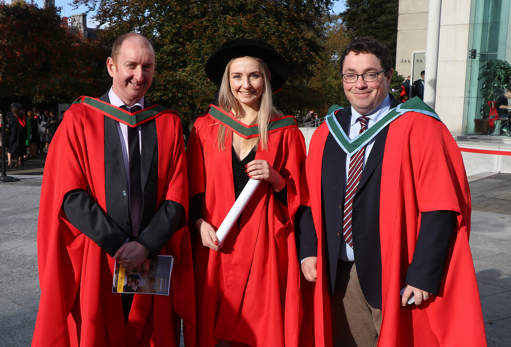 Hons BSc Neuroscience Graduate Katie Togher is conferred with PhD in Neuroscience