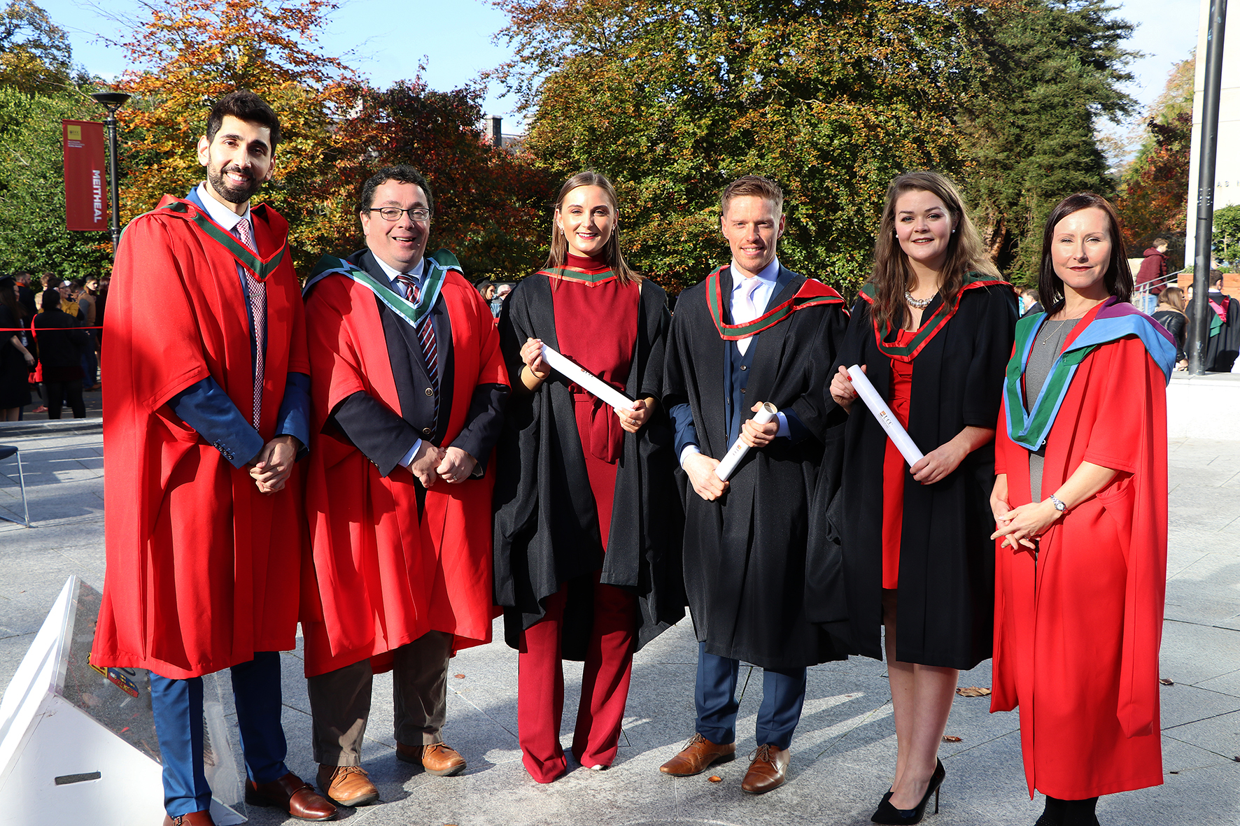 First Five MSc Graduates in Human Anatomy are Conferred