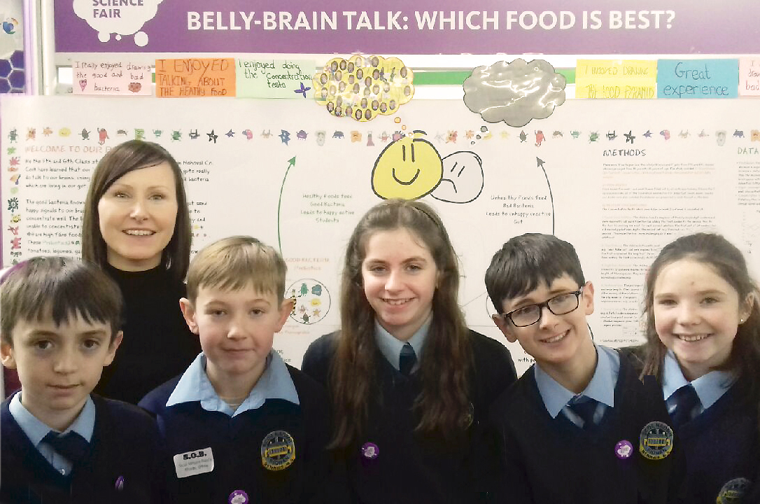 Neuroscience outreach to RDS Young Scientist Competition
