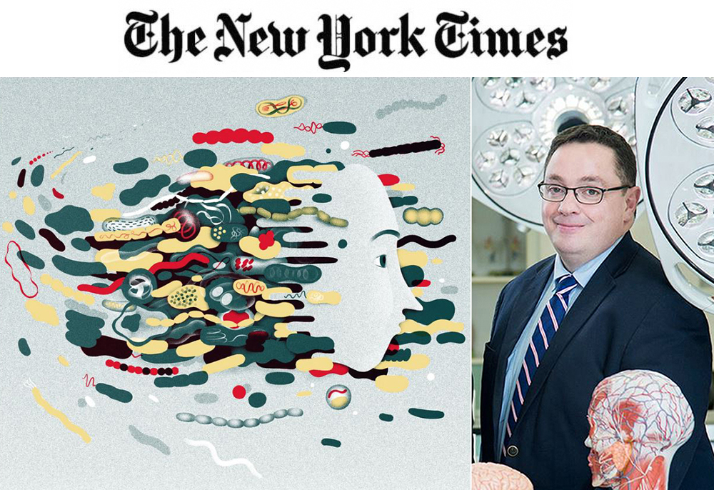 Prof Cryan profiled in The New York Times