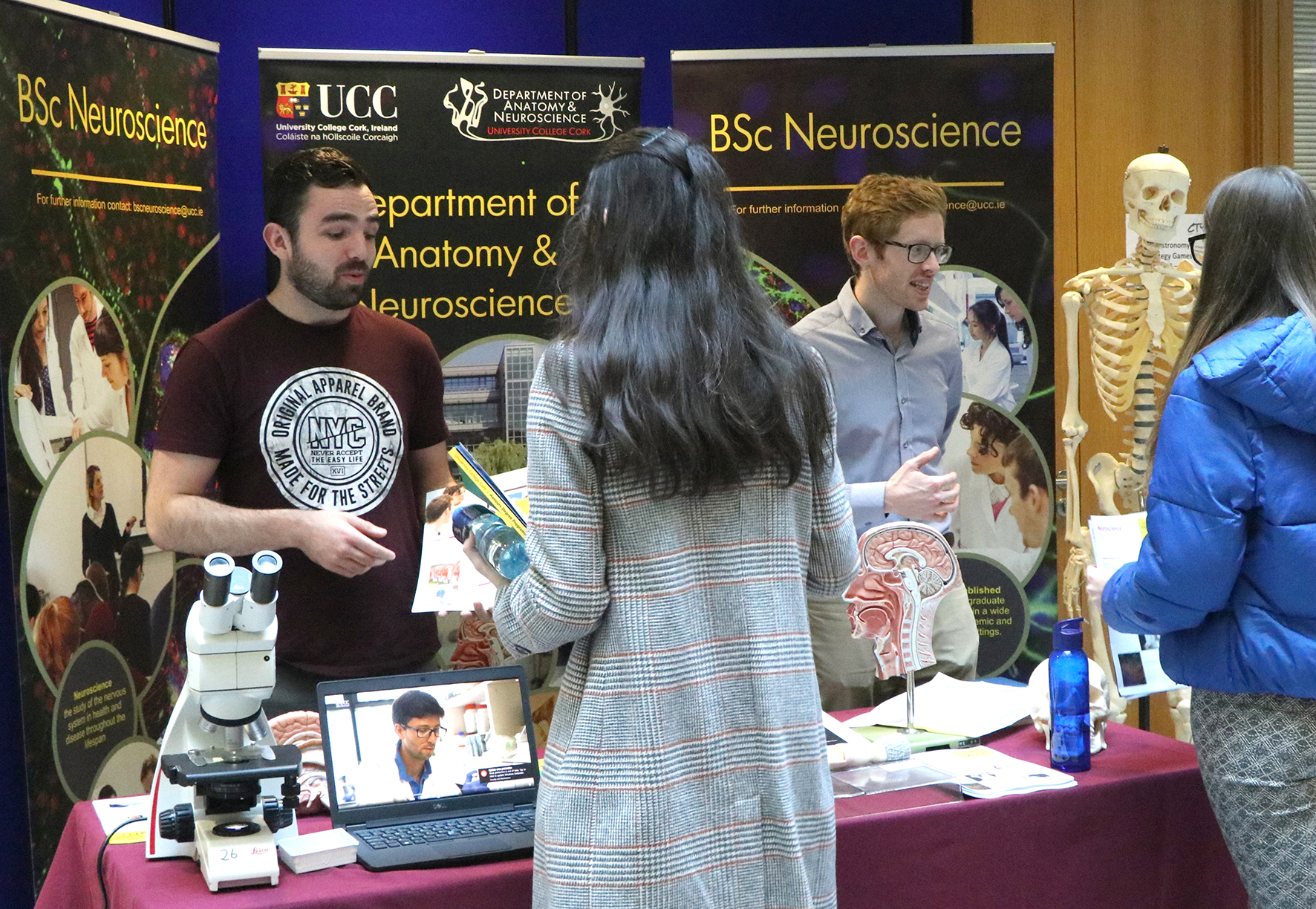 Neuroscience at the UCC October 2019 Open Day
