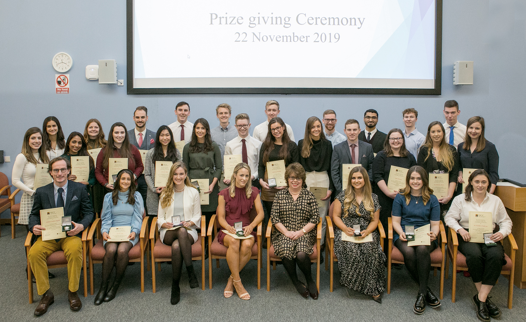 Anatomy and Neuroscience at the 2019 School of Medicine awards Ceremony
