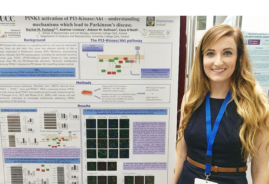 PhD student Rachel Furlong awarded Neuroscience Ireland travel bursary
