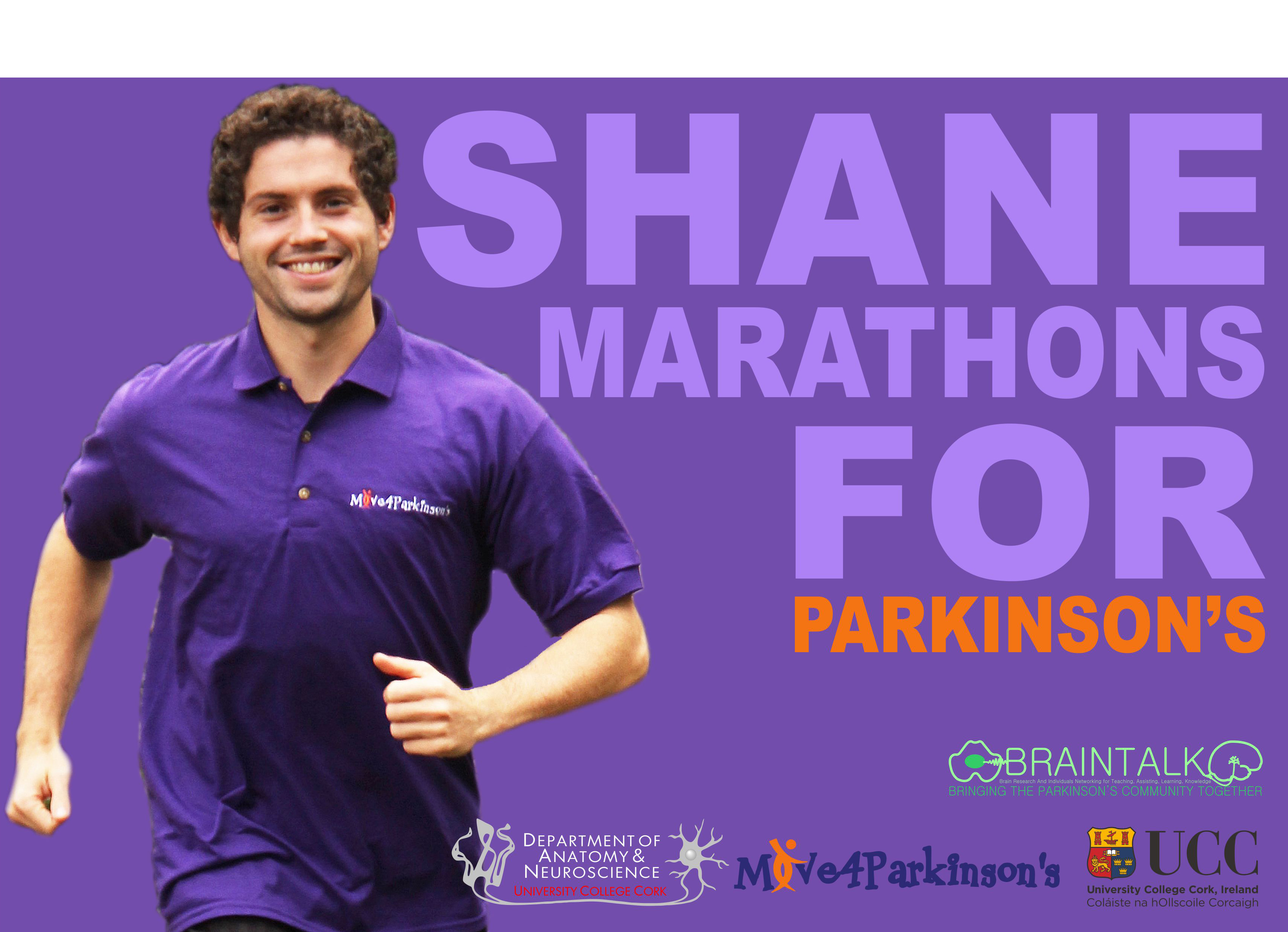 Shane Hegarty 'Marathons for Parkinson's'