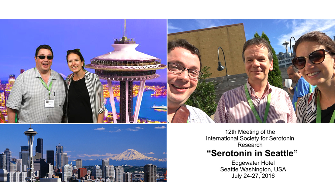 "Dr Schellekens Organises and Speaks in Symposium at ""Serotonin in Seattle"""