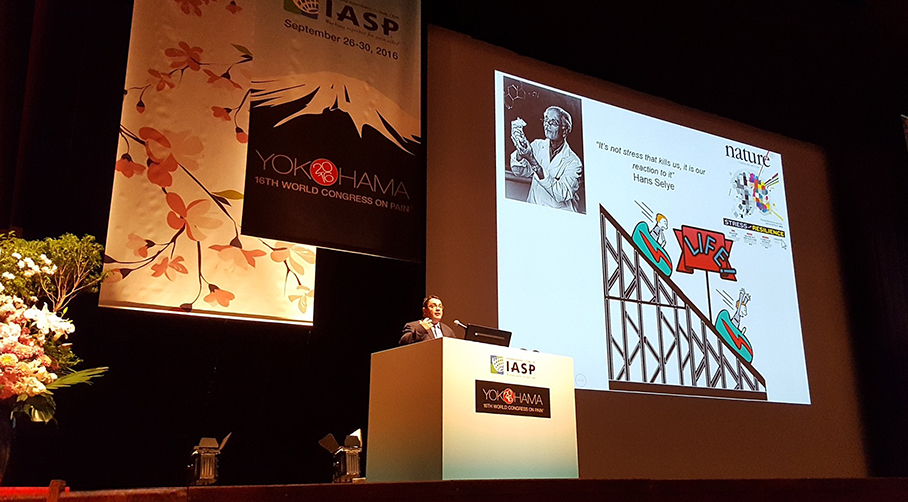 Prof. Cryan delivers Plenary Lecture at World Congress on Pain in Yokohama