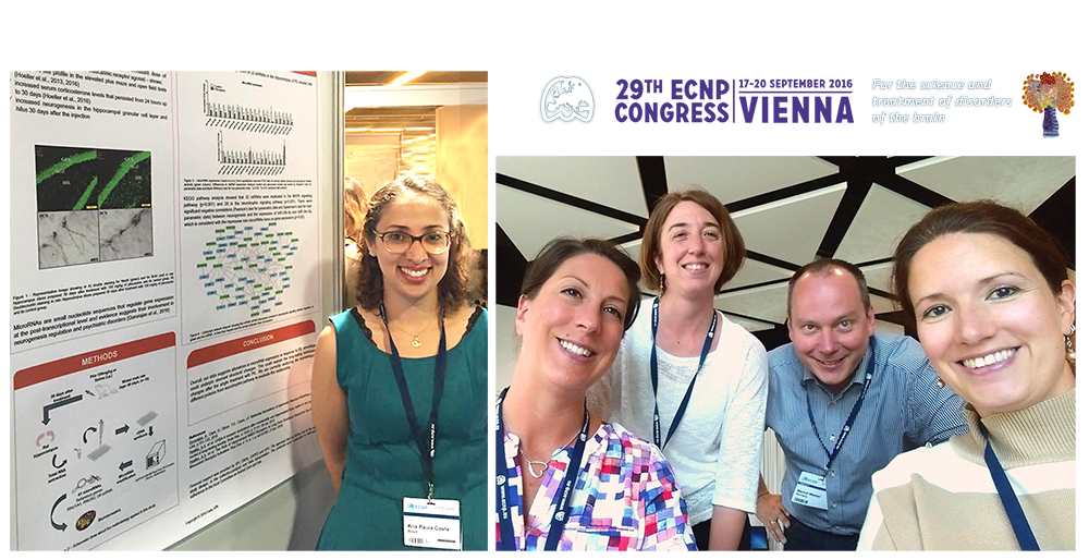 Excellent departmental representation at ECNP meeting in Vienna