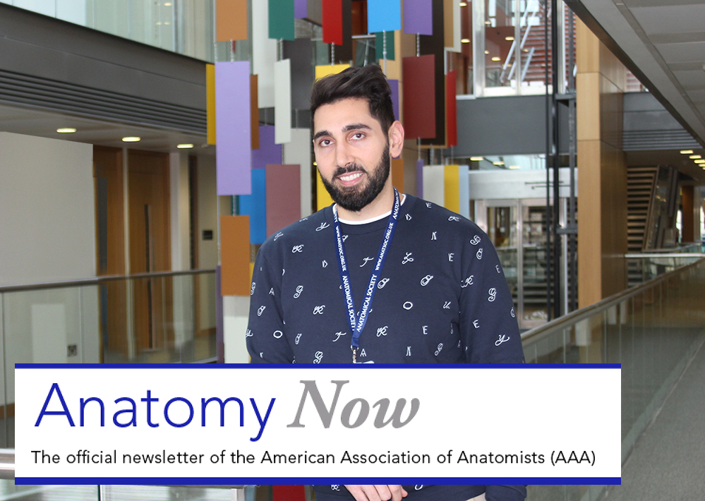 American Association of Anatomists interview Joy Balta for 'Anatomy Now'