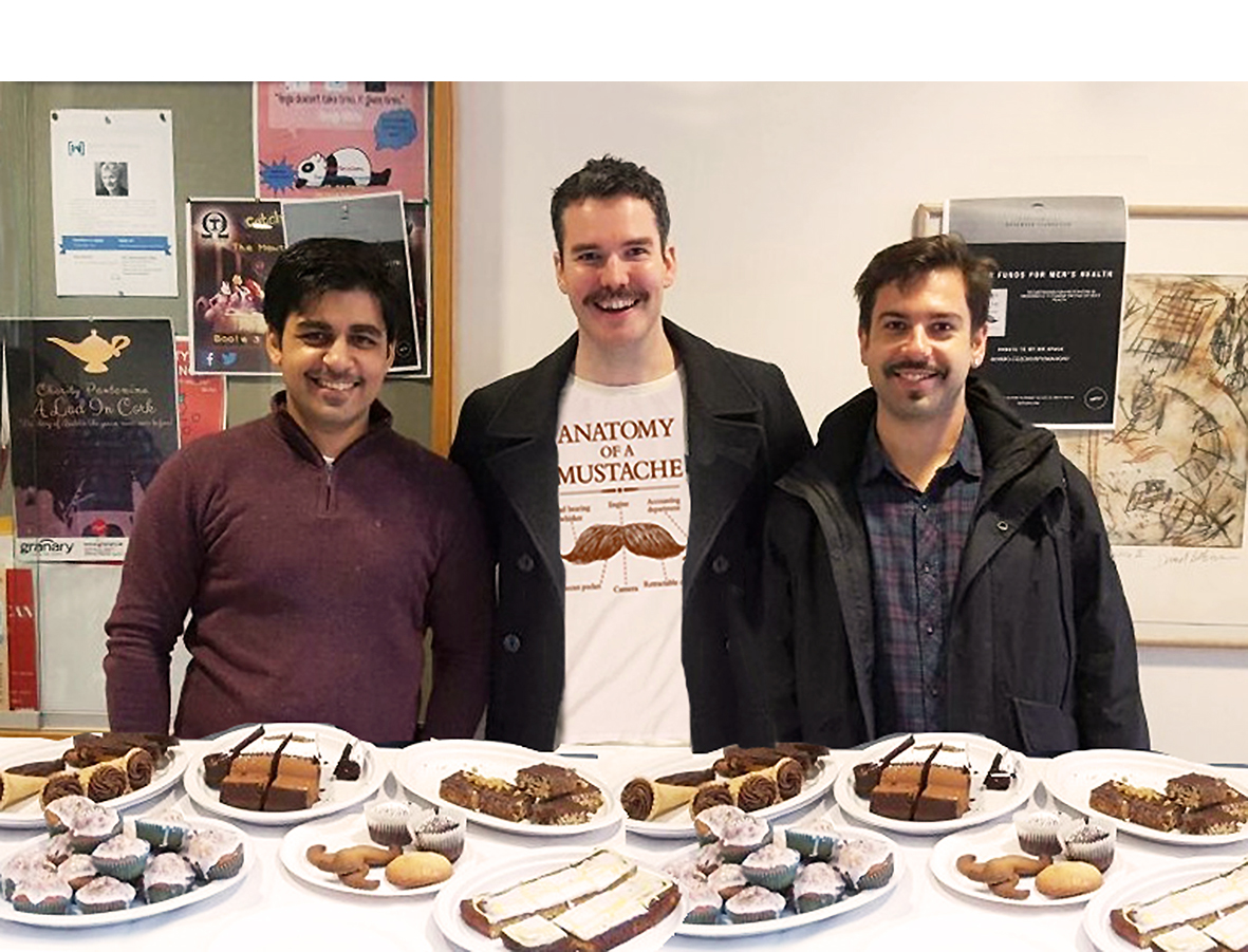 Movember Mustashed Medics bake for Cancer & Mental Health charities