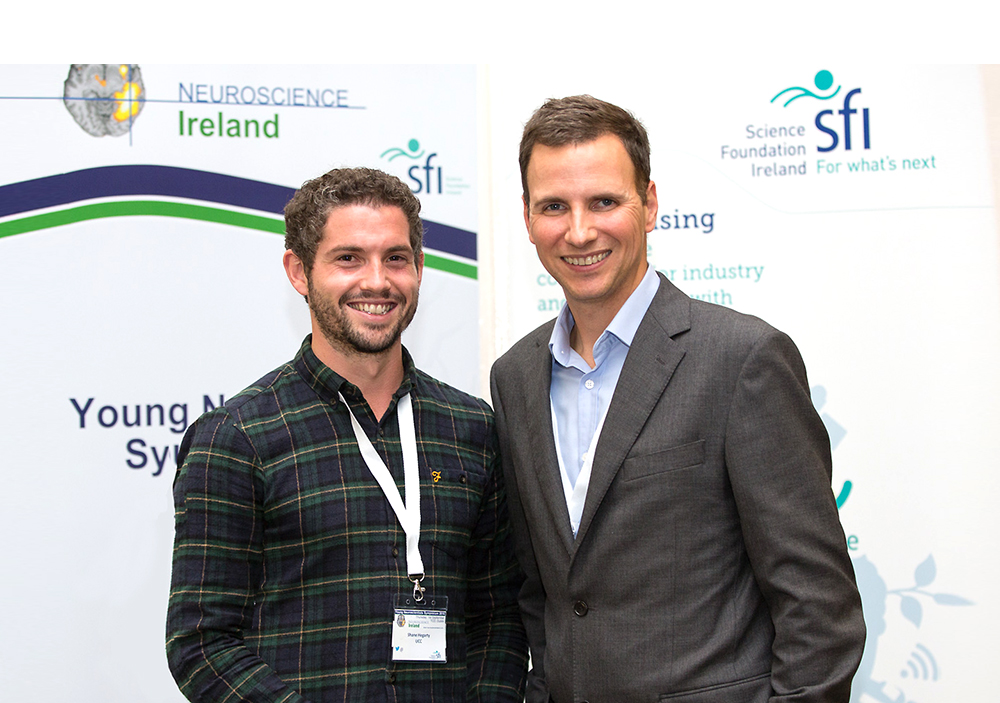 Dr. Shane Hegarty awarded Neuroscience Ireland Early Career Award