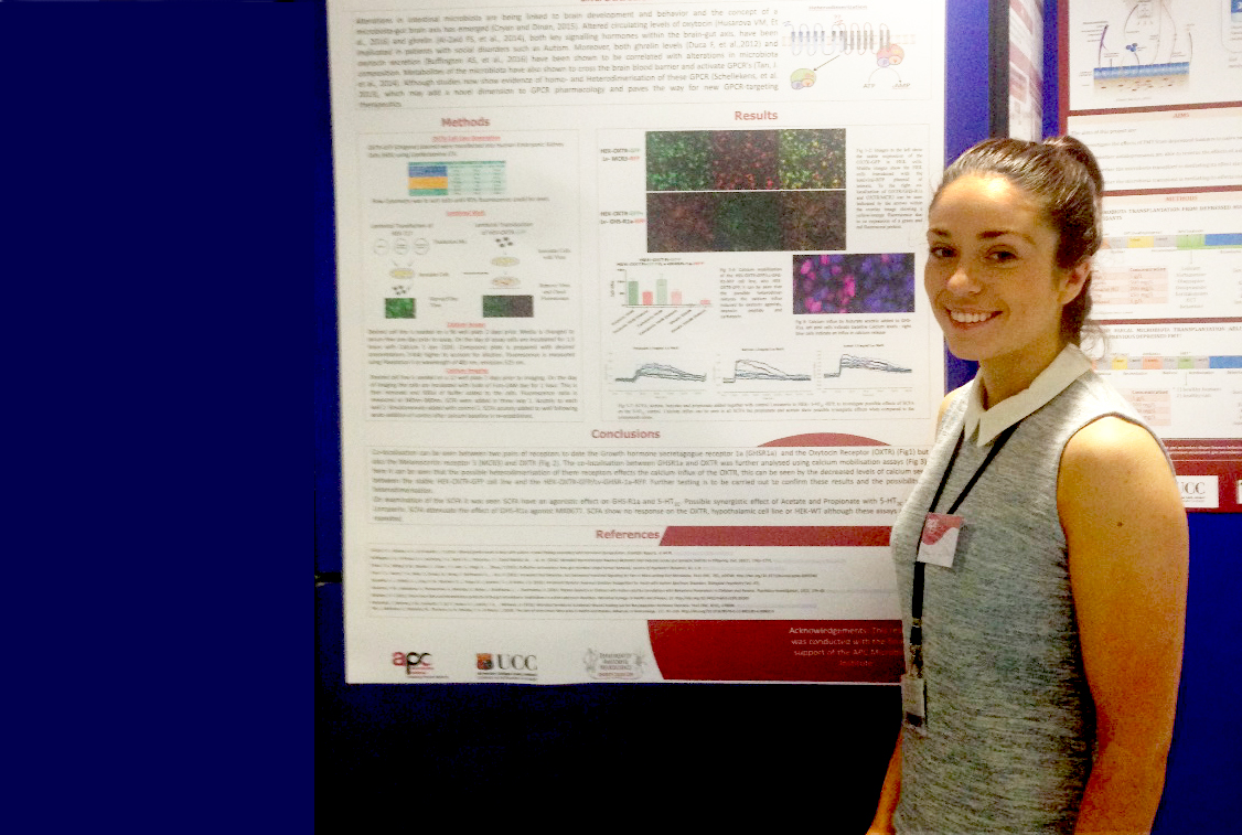Shauna Wallace Fitzsimons wins prize at Young Neuroscientists Symposium