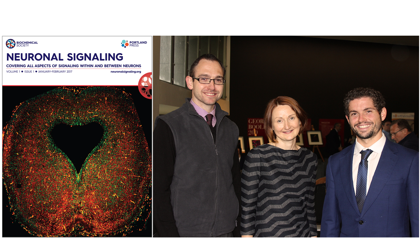 Aideen Sullivan Editor in Chief Neuronal Signalling puts heart into her work