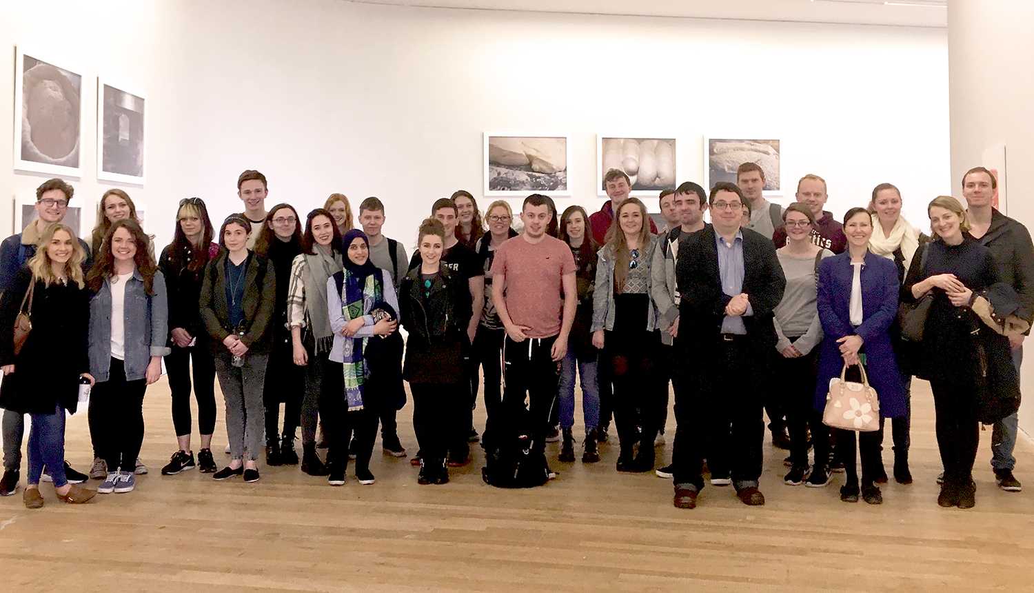 Third & fourth year Neuroscience students explore 'Gut Instinct' at Glucksman