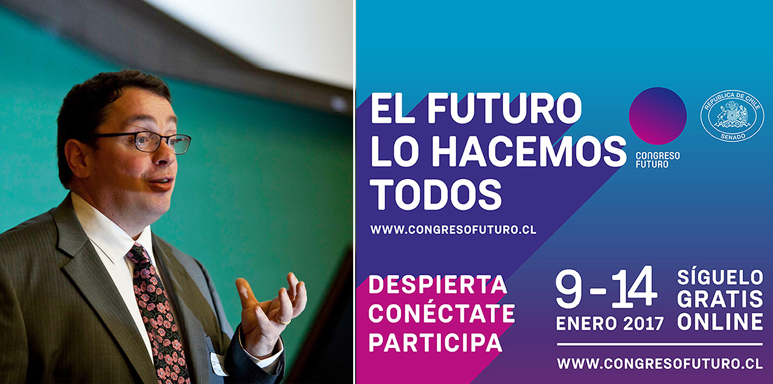 Prof Cryan speaks at Chilean Government-sponsored Congress of the Future