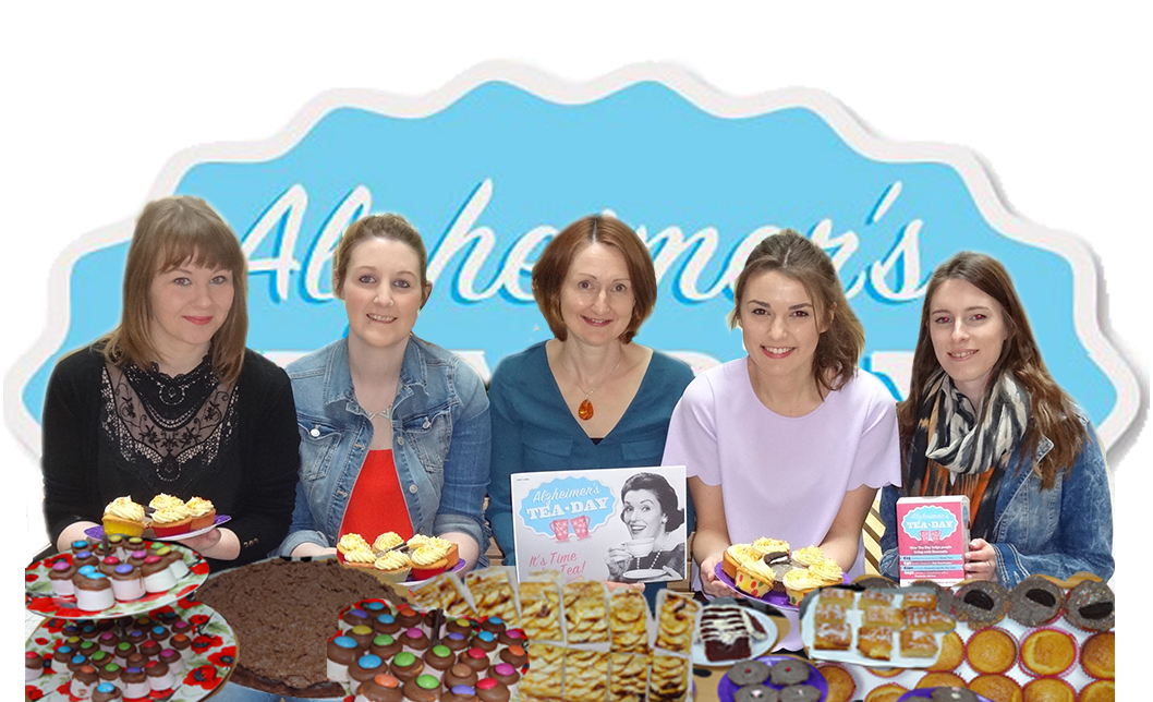 BSc Neuroscience fourth year class hold Tea Party for Alzheimer's Society