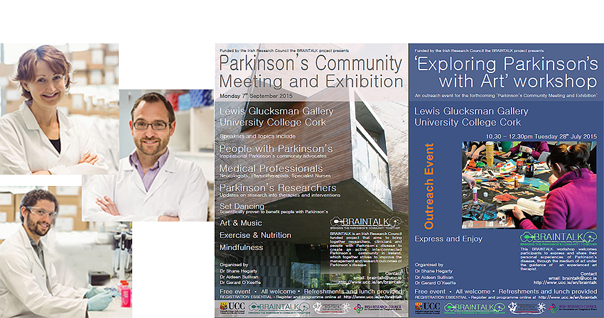 Parkinson's Community Meeting Exhibiton and Art Workshop Announced