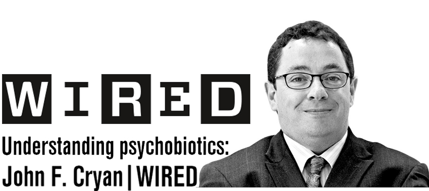 Professor John F.Cryan to speak at WIRED Health 2015: Decoding the Brain