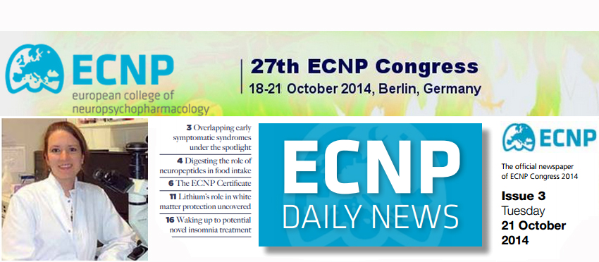 ECNP News Features Harriet