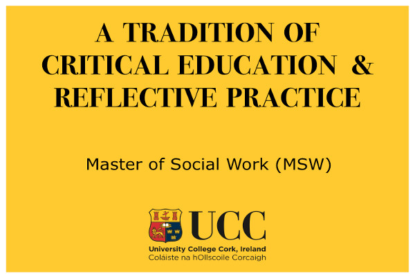 UCC Yellow Logo and Tagline (Wider)