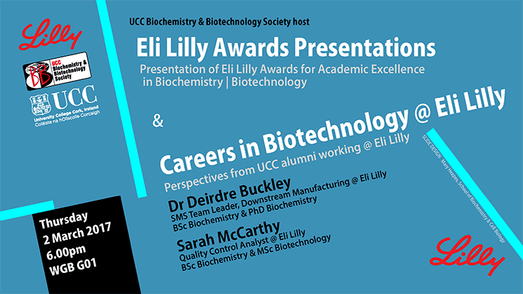 2017 Eli Lilly Awards for Biochemistry and Biotechnology