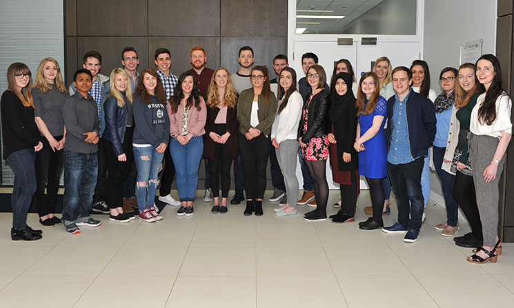 Final Year BSc in Biomedical Science (Honours) class of 2017