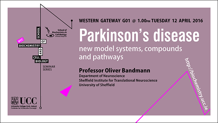 2015-2016 School of Biochemistry and Biotechnology Seminar Series. 