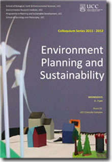 Environment, Planning and Sustainability Colloquium Series