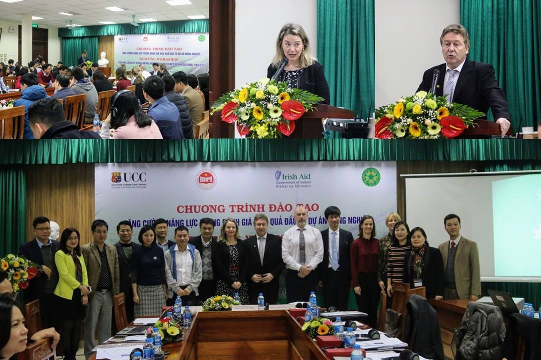 Collaboration between Cork University Business School (CUBS), Ministry of Planning and Investment (MPI) Vietnam and Vietnam University of Agriculture (VNUA)