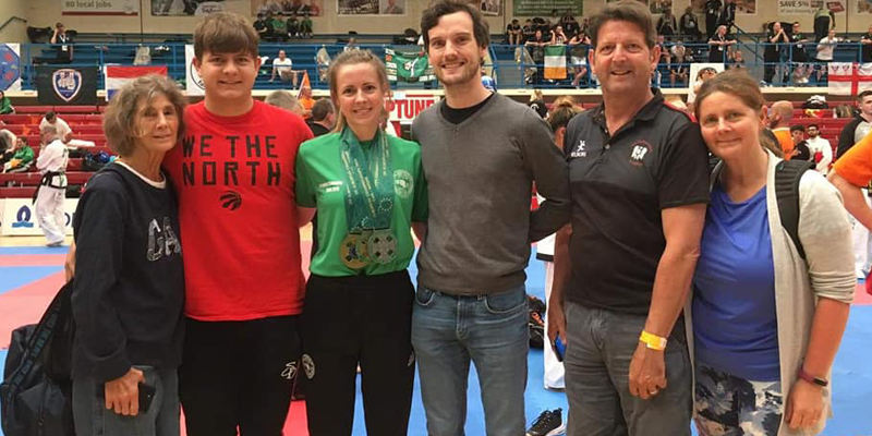 European Taekwon-do Success for Chemistry PhD Student