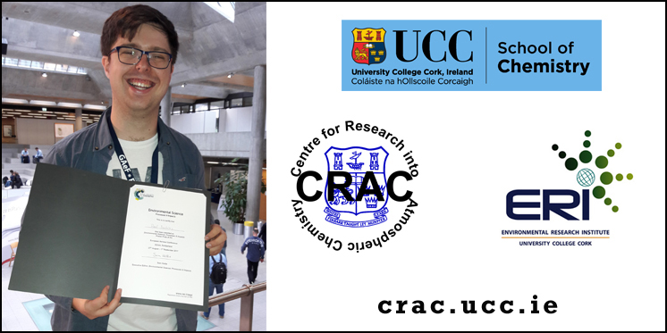 Conference Poster Prize for Paul Buckley