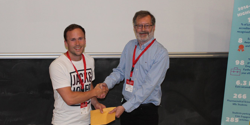 Ryan Kruschel Wins Best Flash Presentation Prize at the 71st Irish Universities Chemistry Research Colloquium