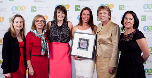 Teaching Hero Award for Dr. Eileen O'Leary