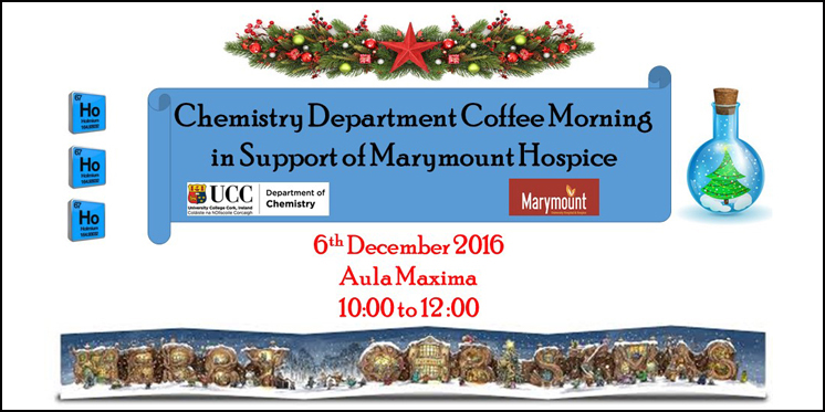 Department of Chemistry Annual Christmas Coffee Morning