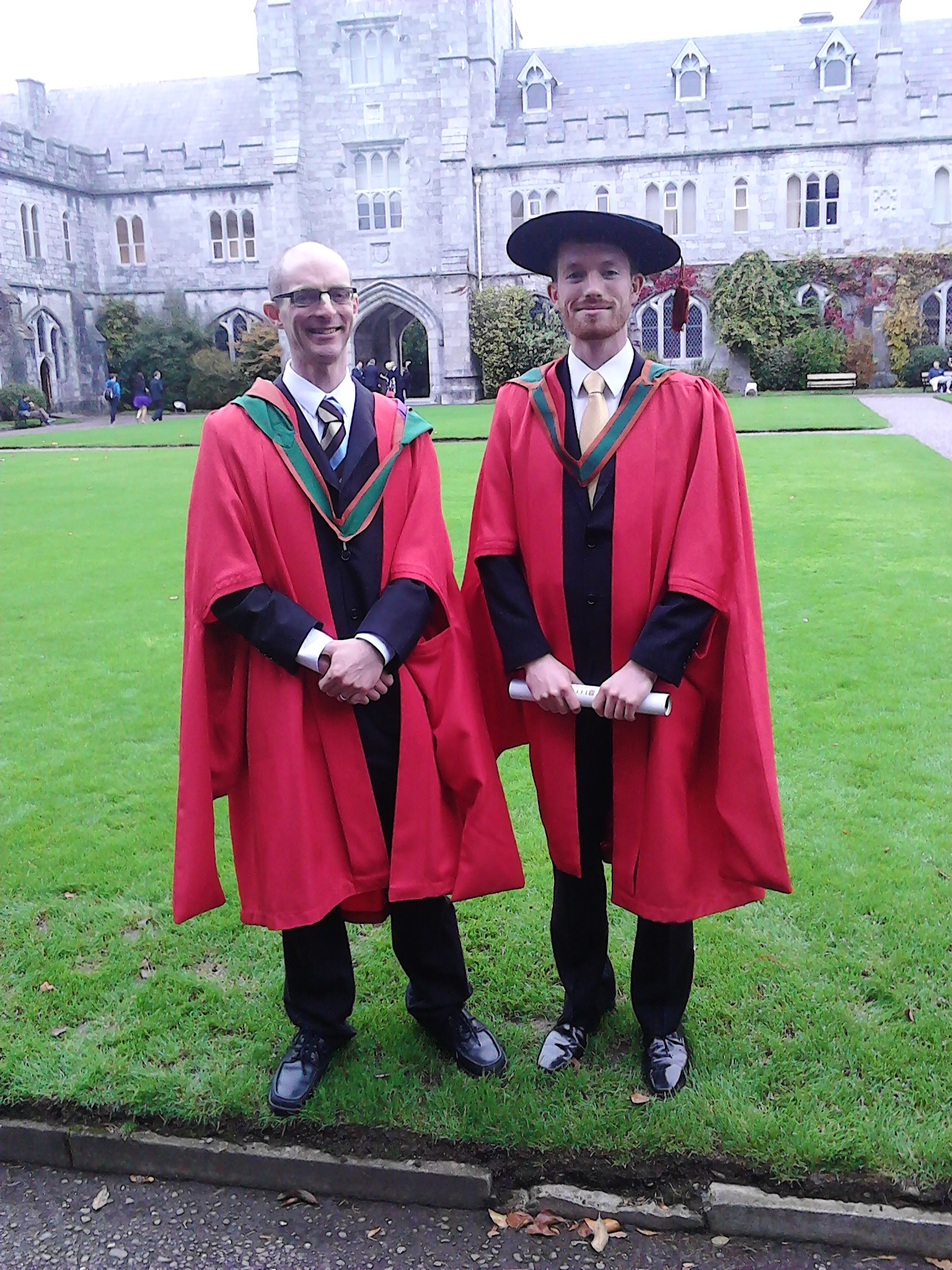 Over 40 Bachelor's, Master's and Doctoral students in Civil & Environmental Engineering were conferred at UCC's recent Autumn Conferrings ceremony.