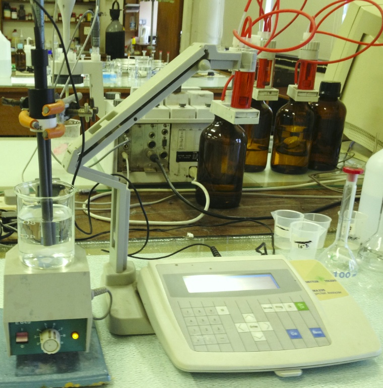 Concrete Laboratory: Flyash Wastewater Testing