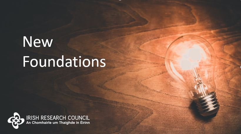 Irish Research Council New Foundations Scheme Awards