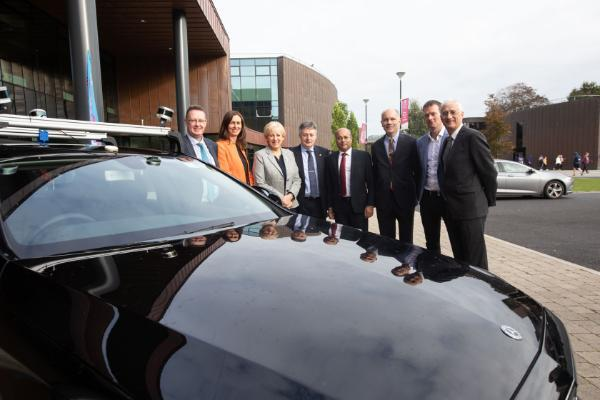 Professor Gregory Provan leads an SFI funded Spoke on Blended Autonomous Vehicles worth €4.2m