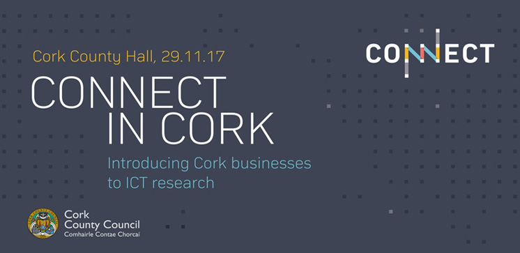 Professor Cormac Sreenan talks on UCC's CONNECT research potential benefits to industry