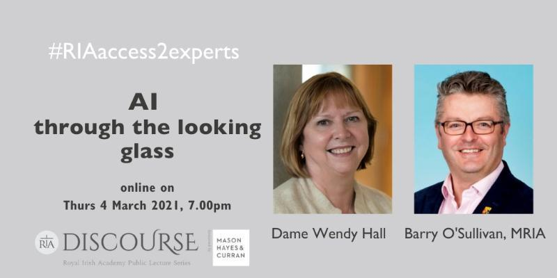 Royal Academy Discourse: AI through the looking glass