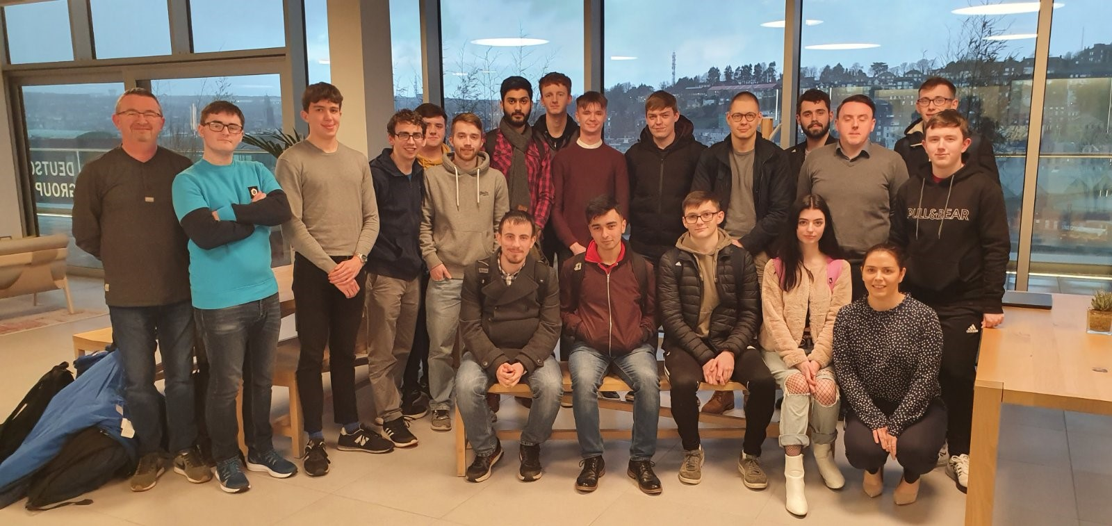 First Year Students Visit Clearstream, Cork