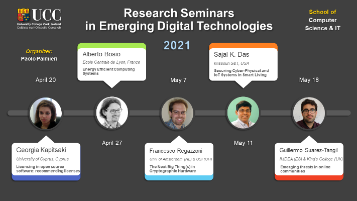 Research Series in Emerging Digital Technologies 2021