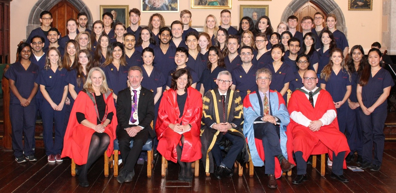 The inaugural Clinical Pledge Ceremony was held in UCC at the Aula Maxima recently.