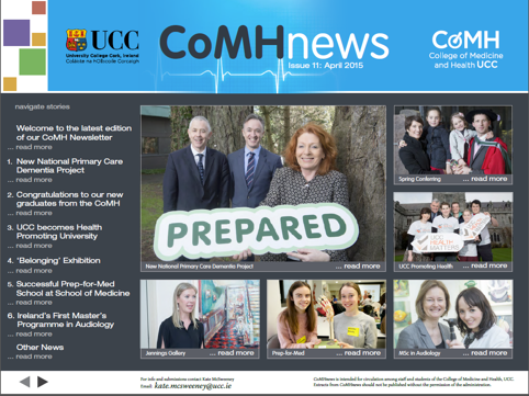 College of Medicine & Health Newsletter April 2015