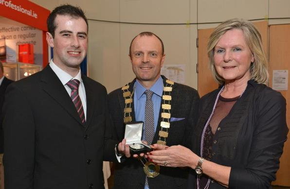 Student Joey Donovan wins Costello Medal 2013